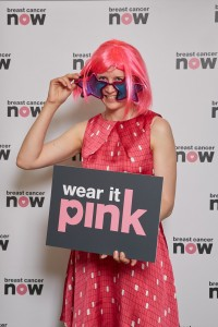 Alison Thewliss MP dresses up for Wear It Pink