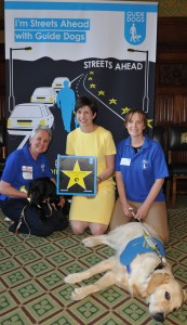 Alison Thewliss MP at the Guide Dogs reception