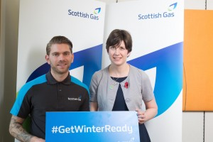 Alison Thewliss MP joins Scottish Gas to call on constituents to get ready for winter