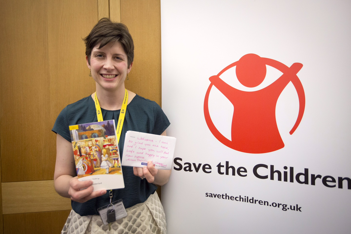 Alison Thewliss MP provides a welcome message for unaccompanied child refugees