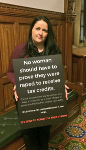Angela Crawley MP calls on the UK Government to scrap the rape clause