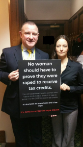 Drew Hendry MP and Carol Monaghan MP call on the UK Government to scrap the rape clause