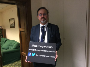 Ronnie Cowan MP calls on the UK Government to scrap the rape clause