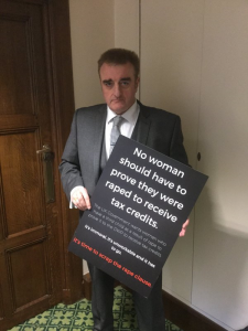 Tommy Sheppard MP calls on the UK Government to scrap the rape clause