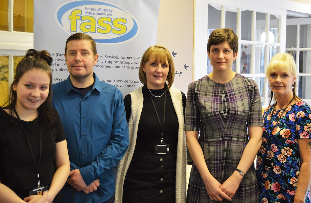 City MP visits inspiring Family Addiction Support Service