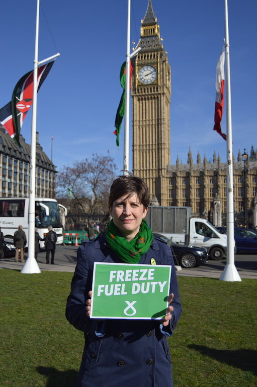 City MP calls on Chancellor to freeze fuel duty
