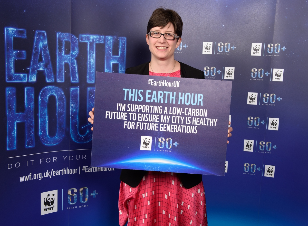 Alison Thewliss MP makes Earth Hour pledge for the planet