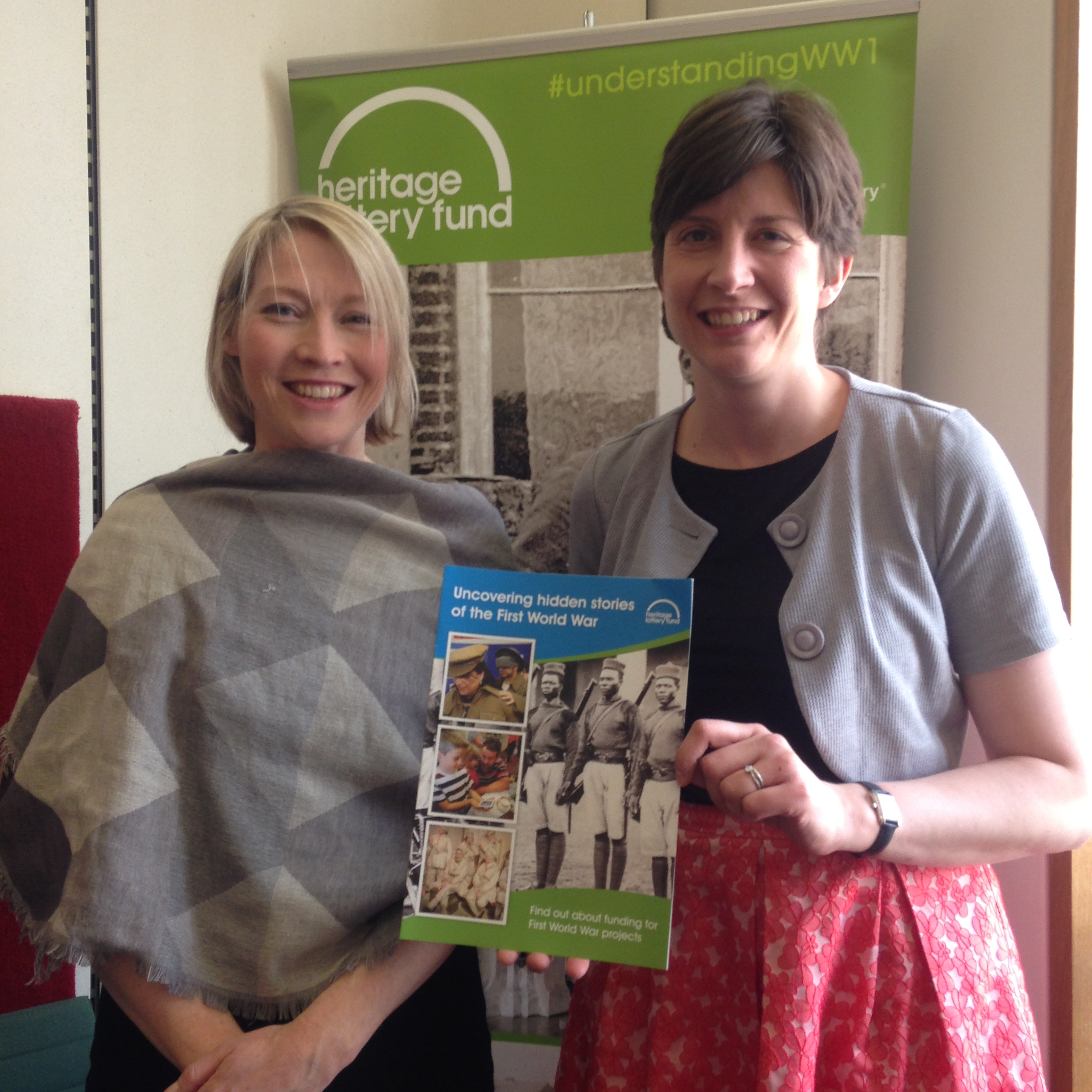 Alison Thewliss MP urges Glasgow communities to apply for HLF funding to mark the Centenary of the First World War
