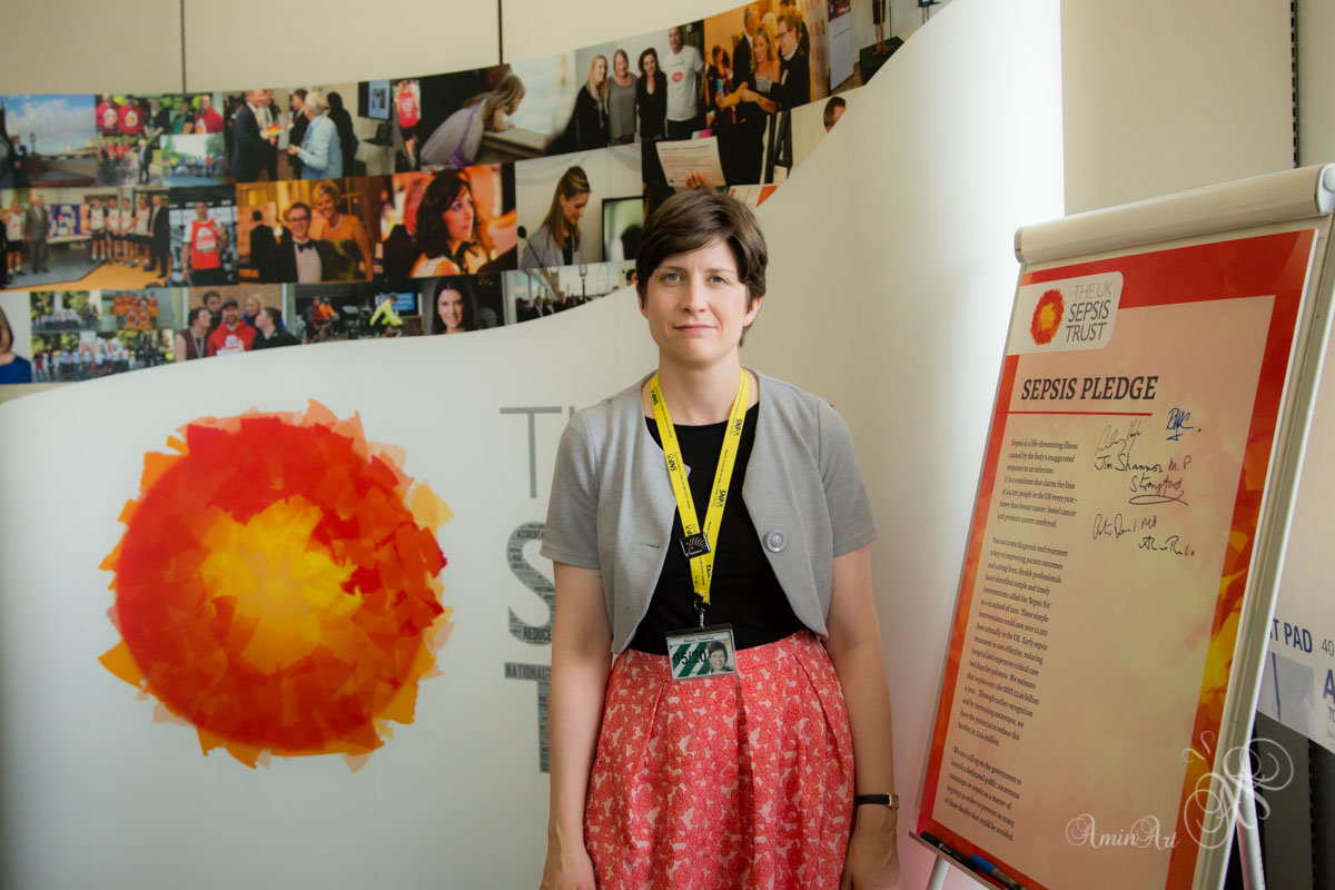 Alison Thewliss MP supporting the Sepsis Trust