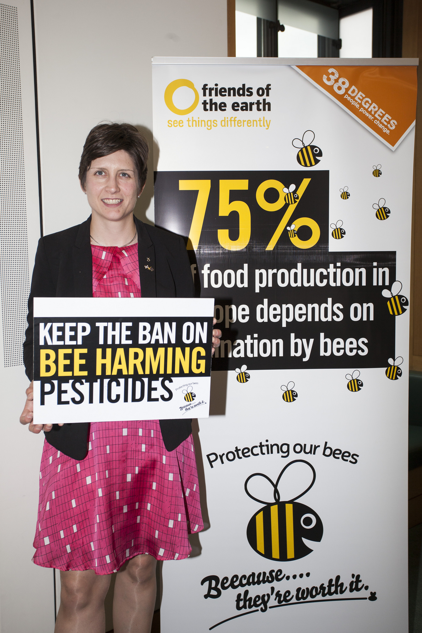 Keep the ban on bee-killing pesticides, says Alison Thewliss MP