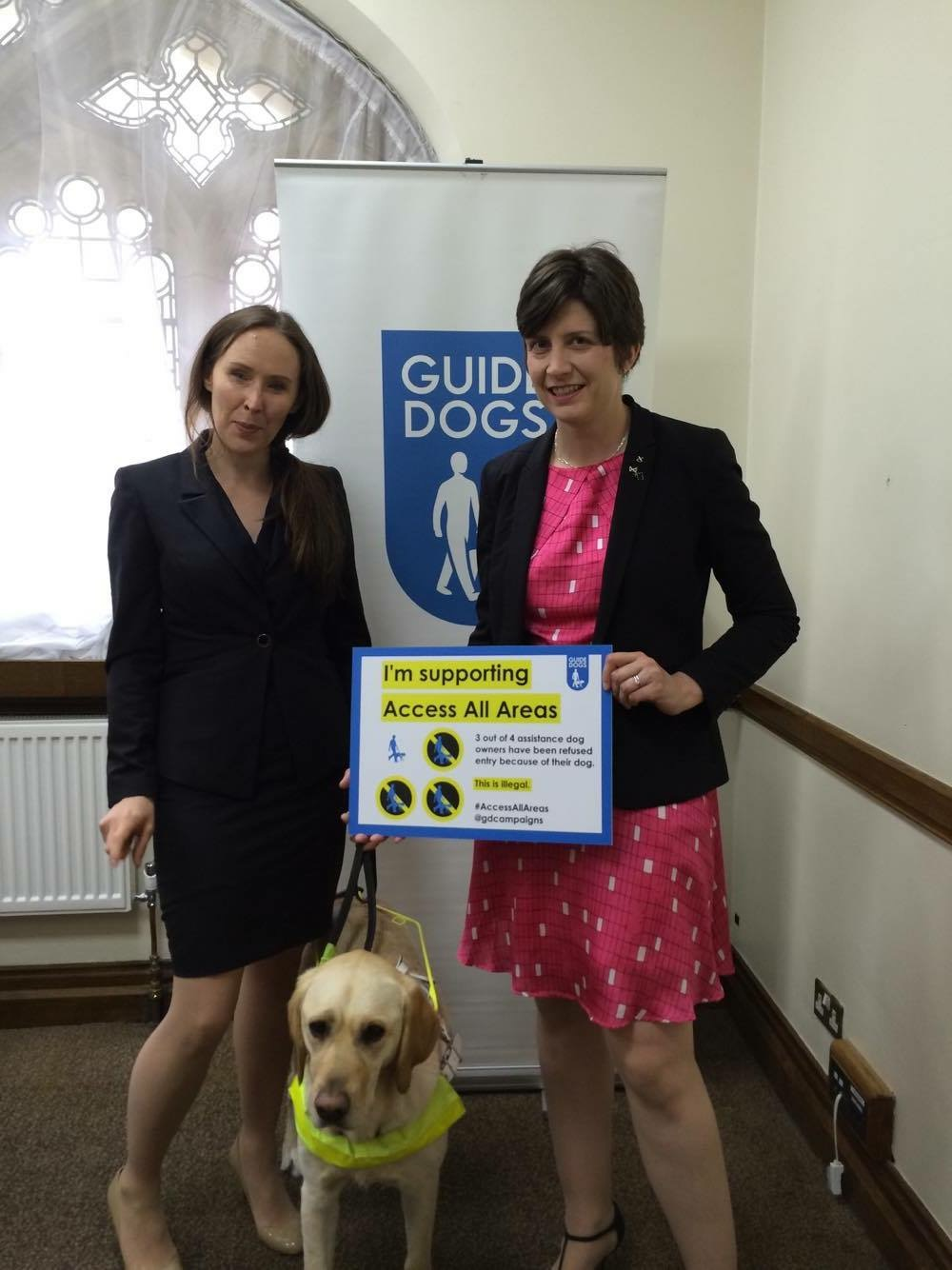 Guide Dogs Reception in Parliament