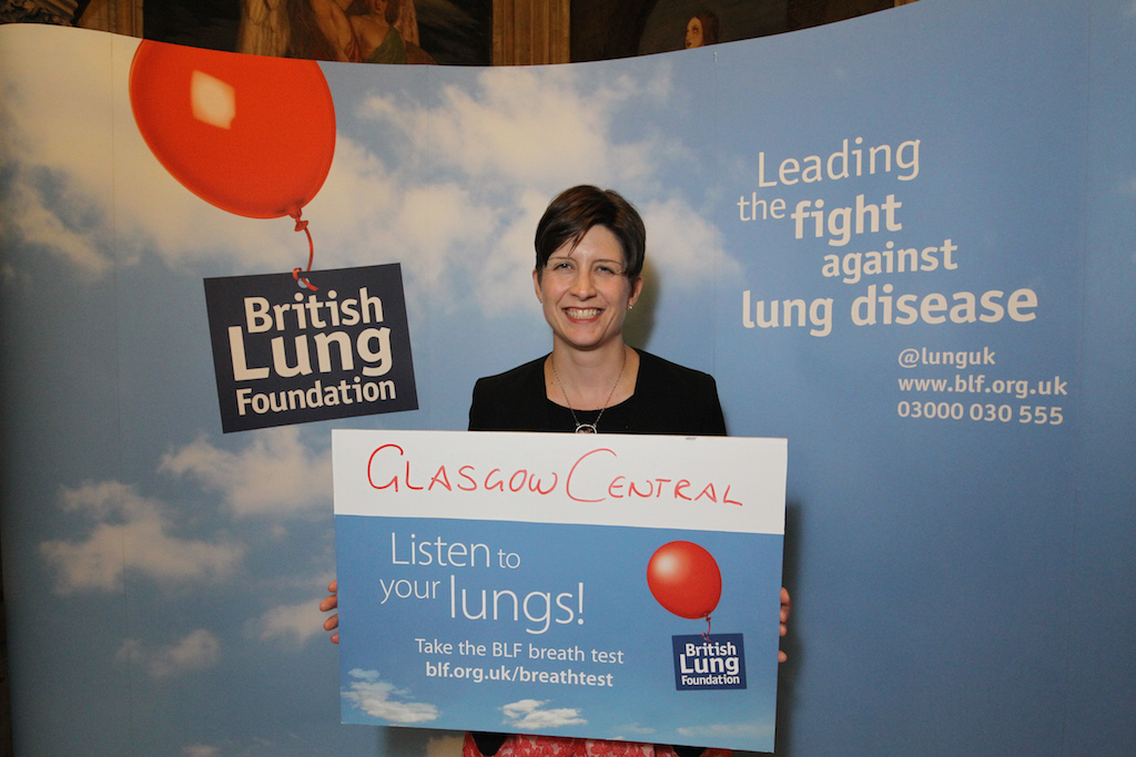 "Alison Thewliss MP asks the people of Glasgow ""are you feeling breathless?"""