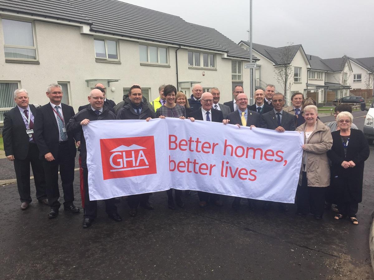 MP Thewliss celebrates Toryglen housing development