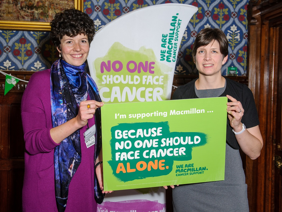Alison Thewliss MP supports Macmillan's coffee morning