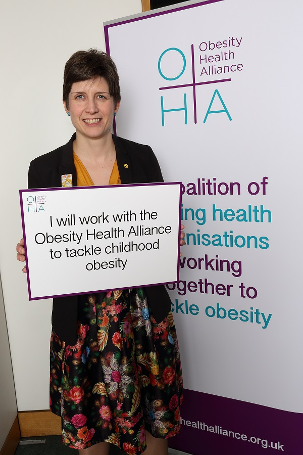 Alison Thewliss MP supports Soft Drinks Industry Levy at Parliament event