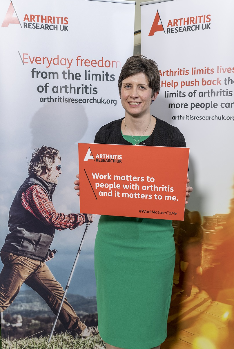 People with arthritis need more support to work says MP