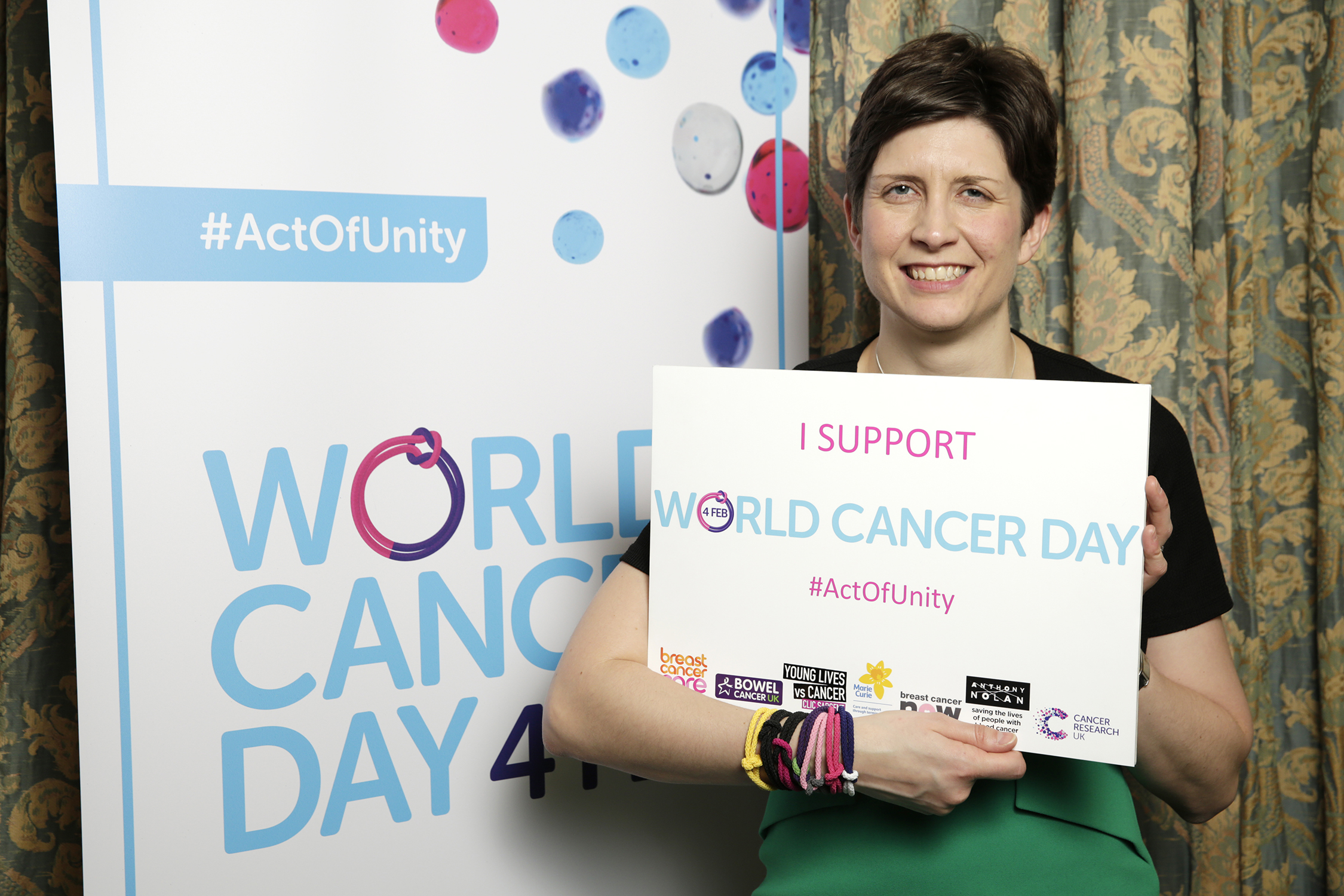 Alison Thewliss MP supports World Cancer Day 2017
