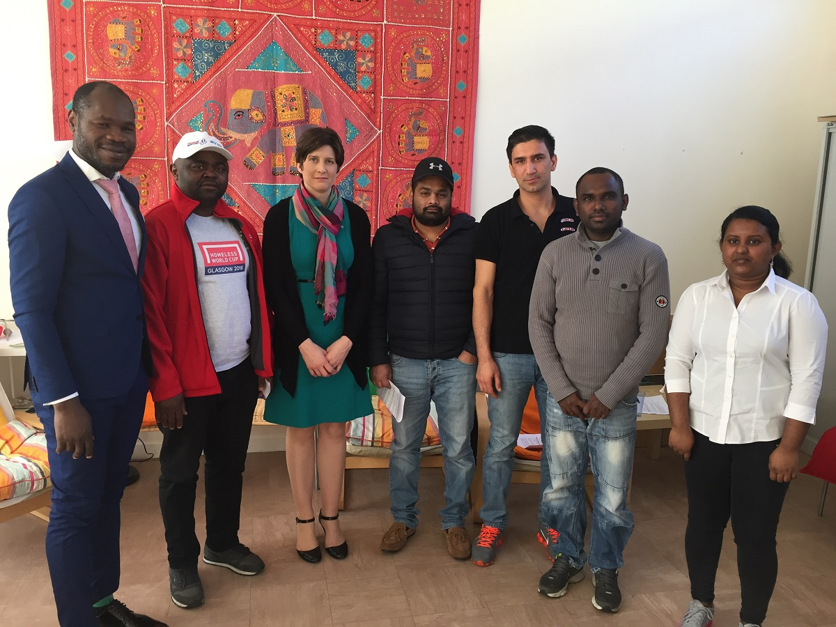 MP visits Freedom From Torture project