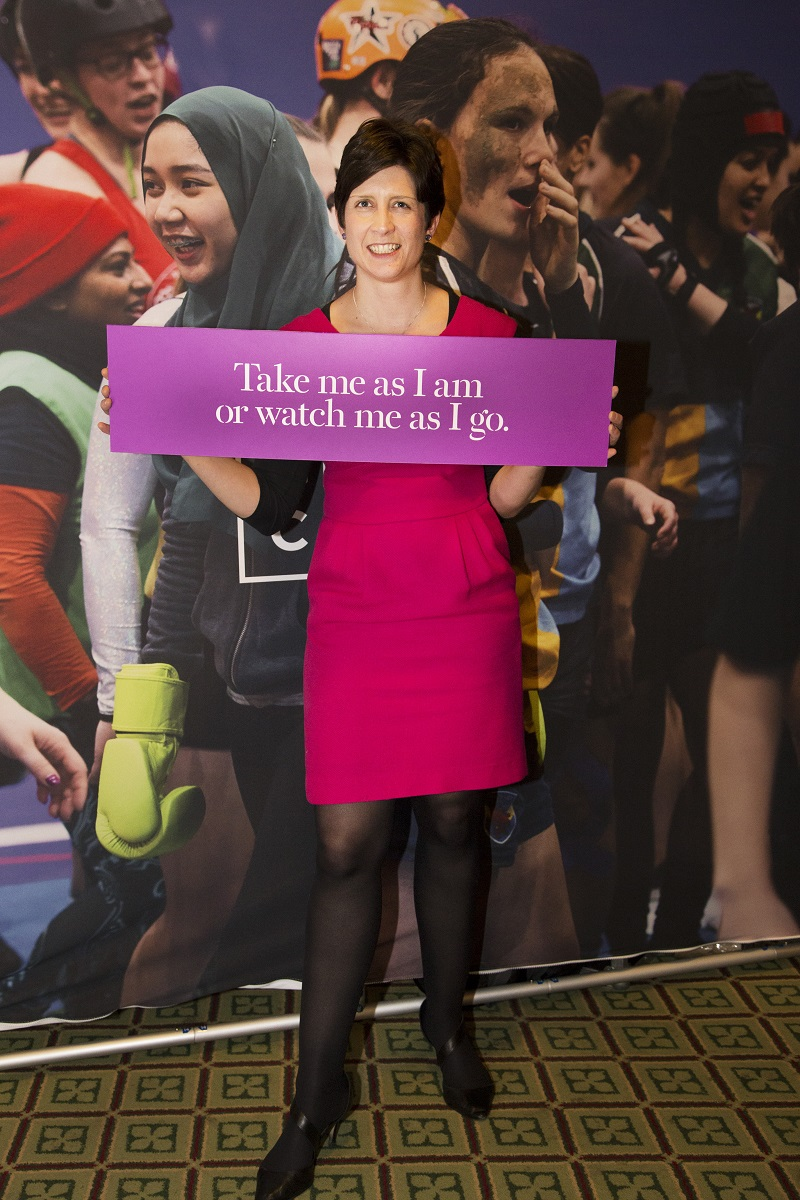 This MP Can: Alison Thewliss MP supports This Girl Can campaign