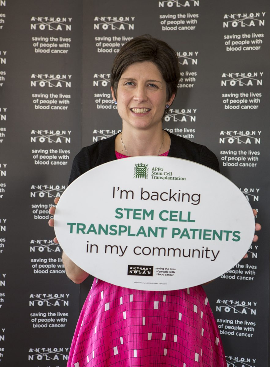 Alison Thewliss MP celebrates community's efforts to cure blood cancer
