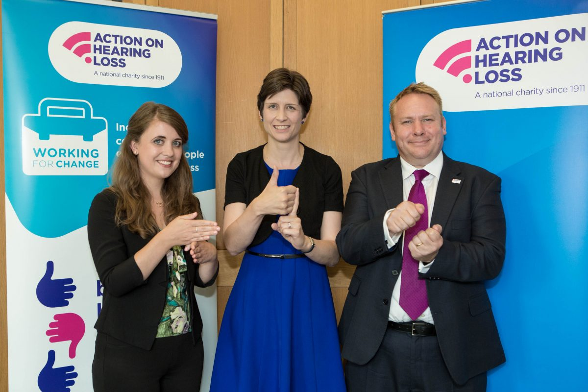 Alison Thewliss MP supports calls to remove employment barriers facing deaf people