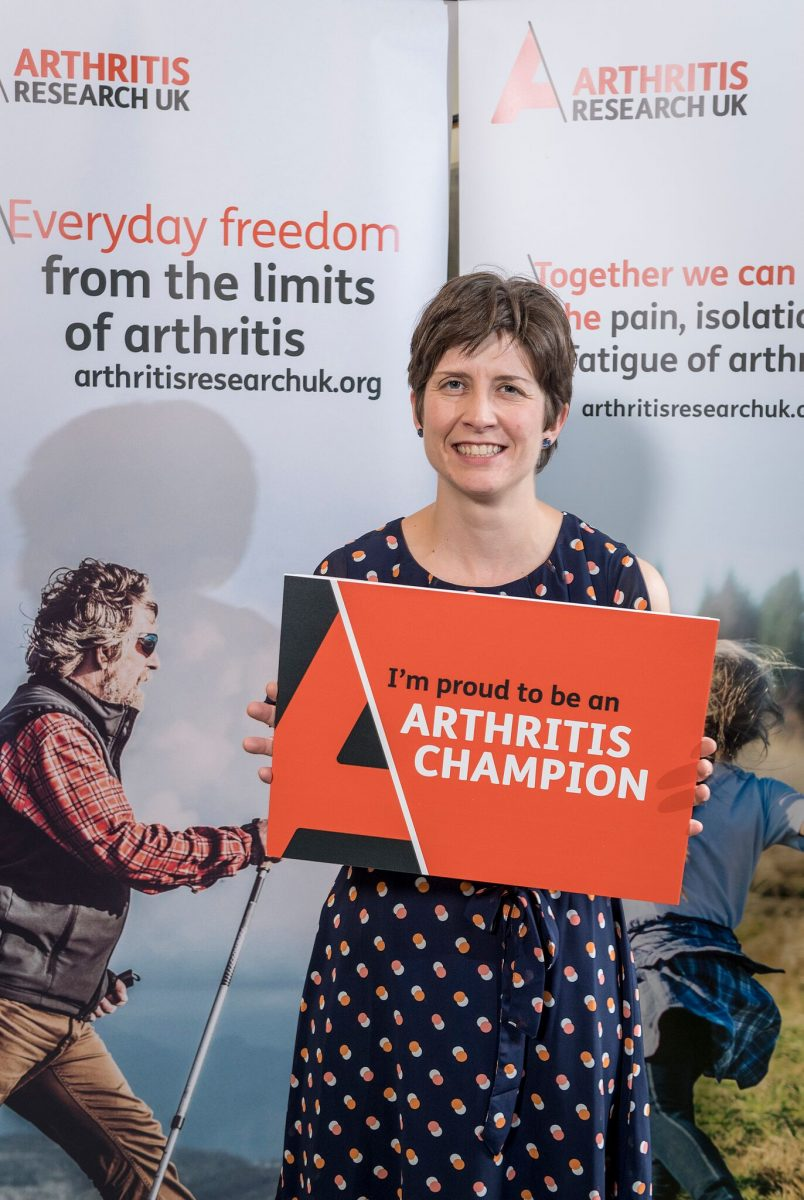 Alison Thewliss MP pledges to become an Arthritis Champion for Glasgow
