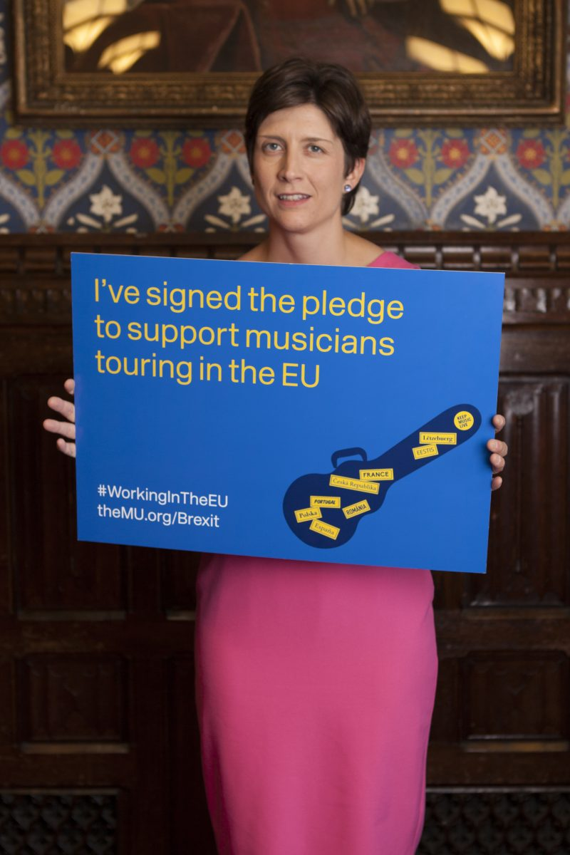 Backing the best possible deal for musicians post-Brexit