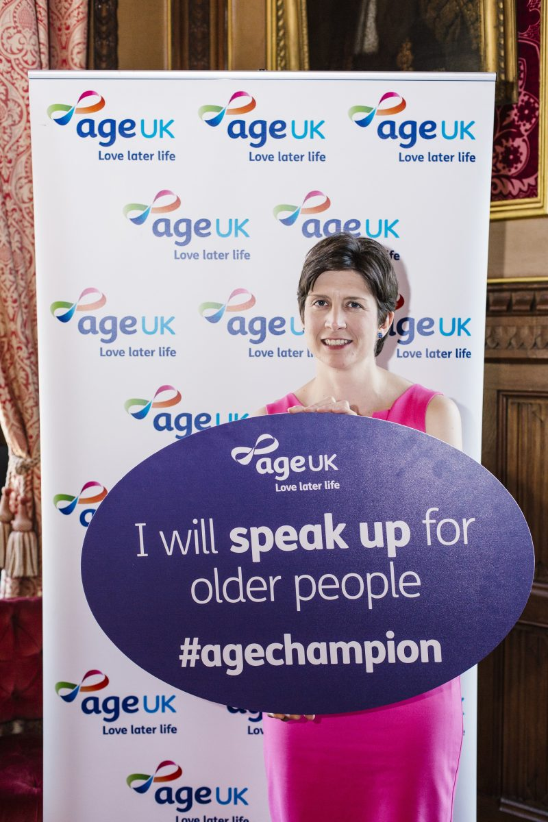 Alison Thewliss MP pledges to speak up for older people at 'Age Champions' annual reception