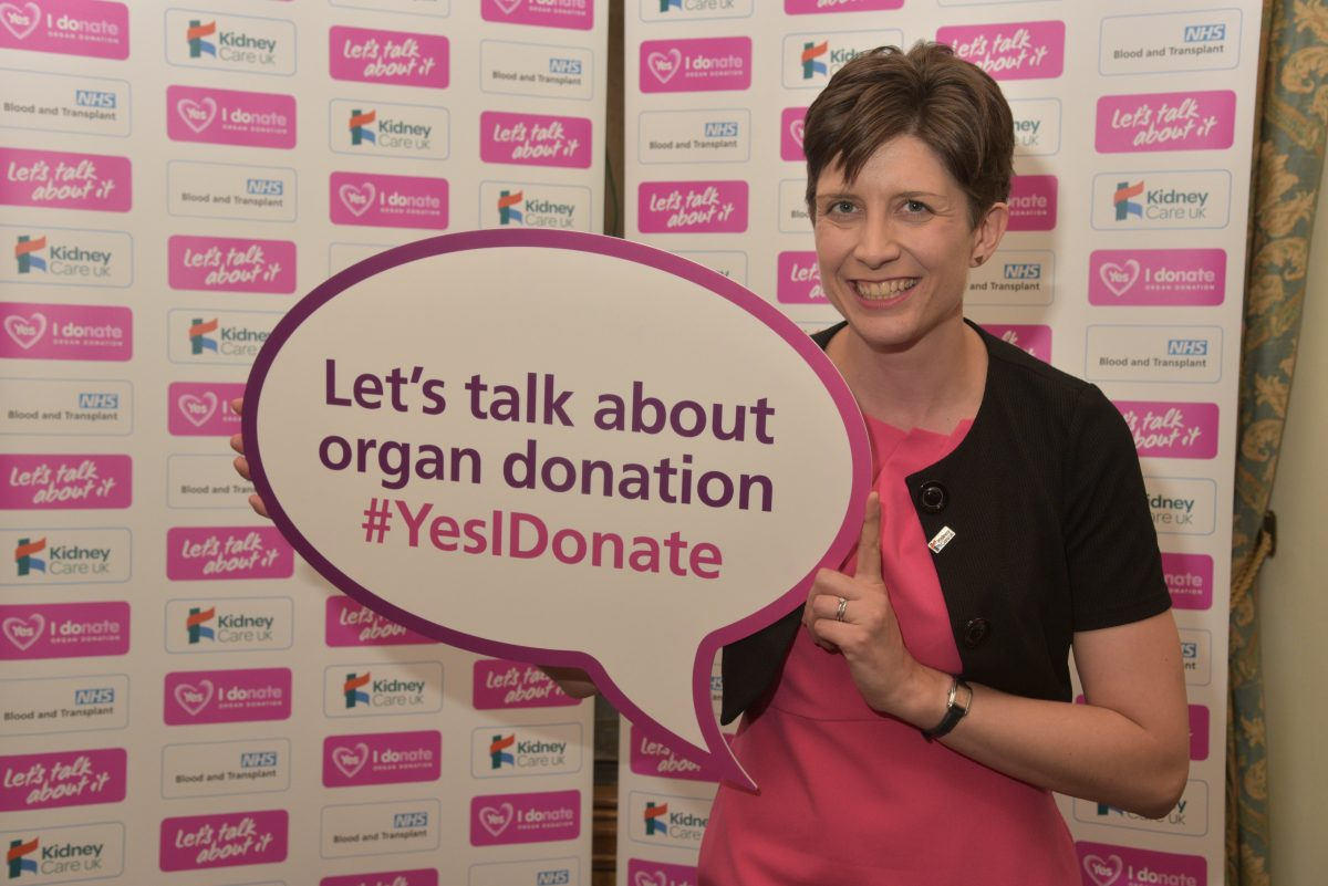 Alison Thewliss MP supports appeal for families in Glasgow Central to have a lifesaving talk during Organ Donation Week