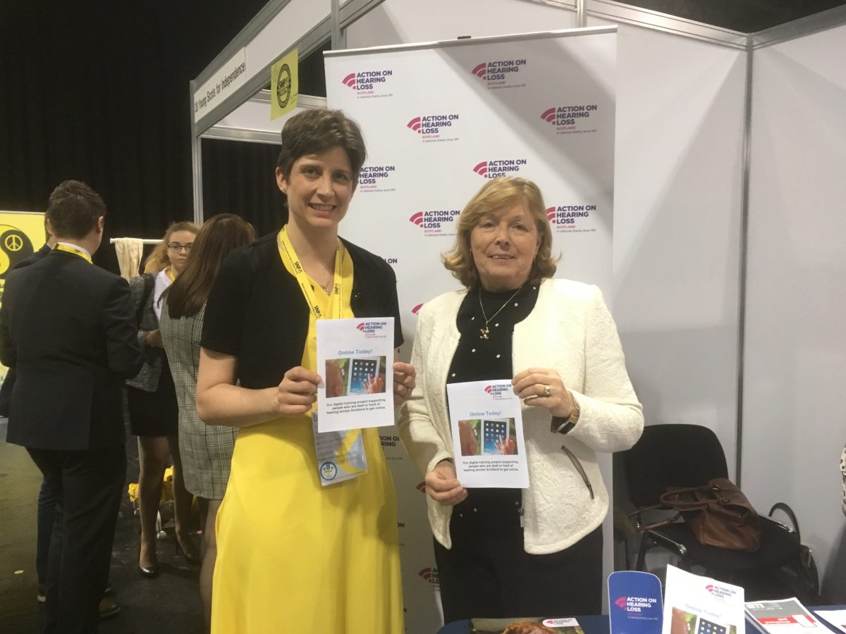 Alison Thewliss MP backs project to tackle digital isolation for deaf Glaswegians