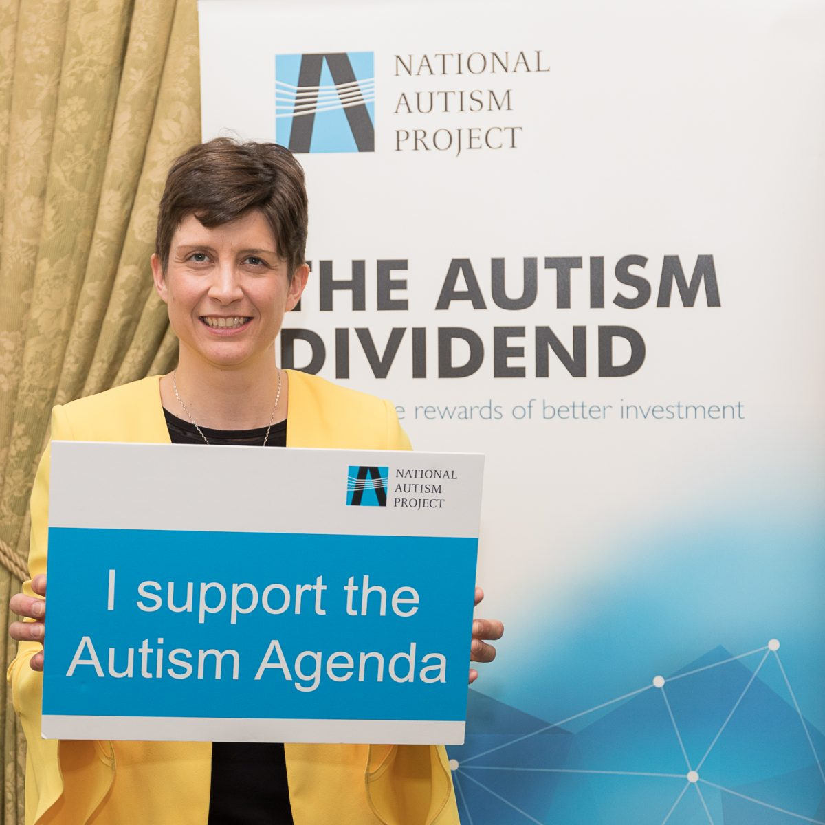 Alison Thewliss MP supports National Autism Project campaign