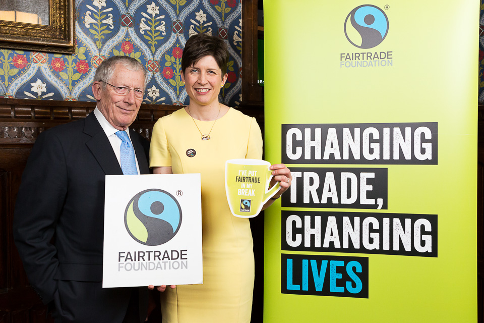 Parliamentary event invites politicians to 'Come On In' to Fairtrade