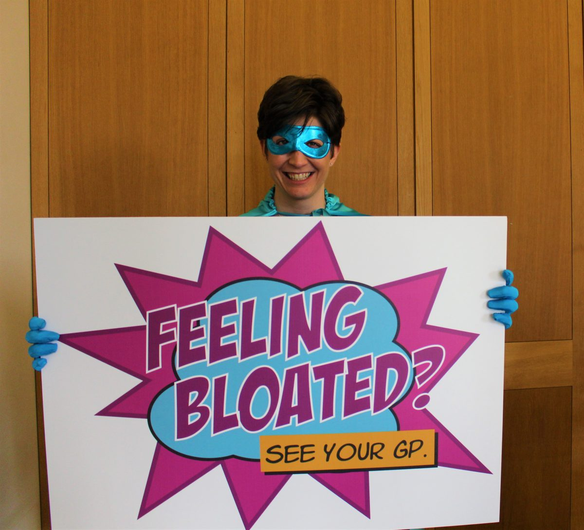 Alison Thewliss MP becomes teal hero for Ovarian Cancer Awareness Month