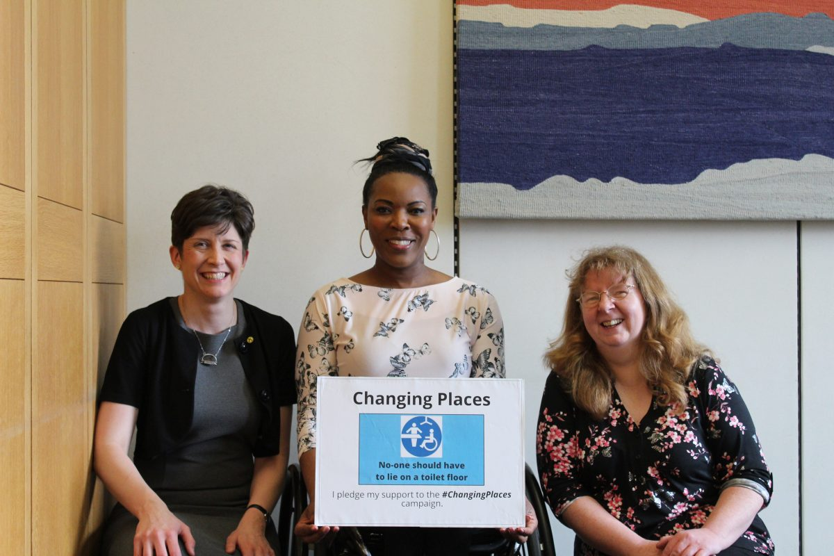 Alison Thewliss MP supports 51,000 strong Changing Places petition