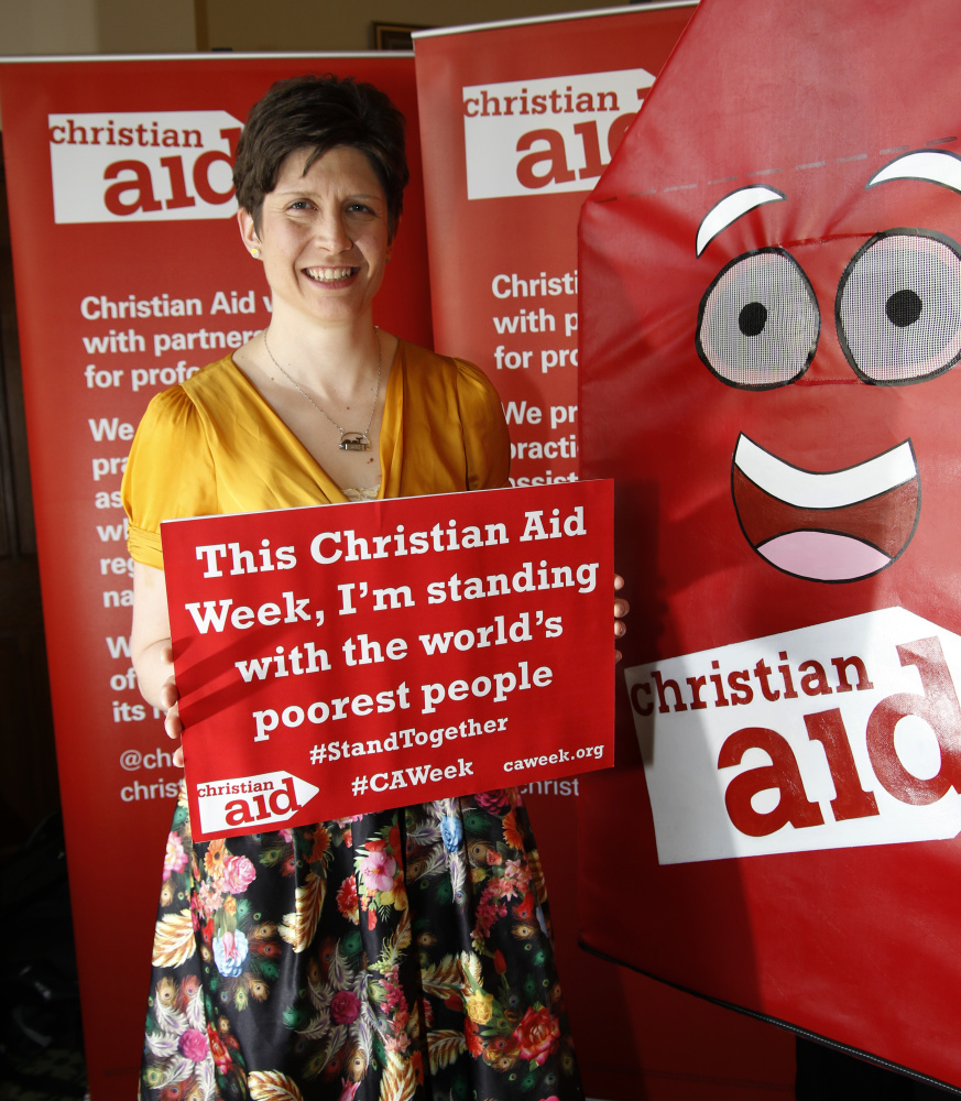 Alison Thewliss MP shows her support for Christian Aid Week