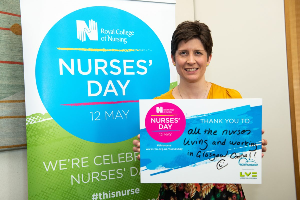 Alison Thewliss MP celebrates Nurses' Day 2018