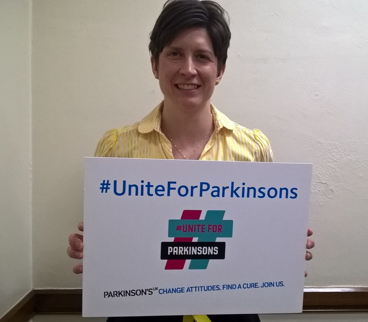 Alison Thewliss MP Unites for Parkinsons